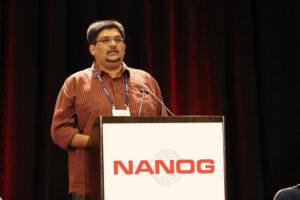 Kaustubh Gadkari at Nanog57